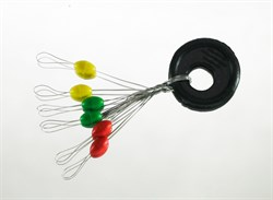 Стопор Резиновый Цветной Olive Rubber Stopper L 6шт/уп - фото 34887