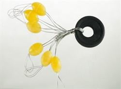Стопор Силиконовый Желтый Olive Rubber Stopper XXL 6шт/уп - фото 34888