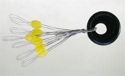 Стопор Силиконовый Желтый Olive Rubber Stopper L 6шт/уп - фото 34891