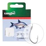 Готовый Поводок Kamasaki Carbon Hook K890Br №12 Bounded