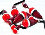 Поплавок зимний двухчастный Shark - 0.8гр Красный