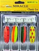 Набор блесен Rosy Dawn Classic Ice C 4шт 7гр