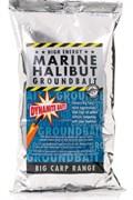 Dynamite Baits прикормка 1кг Marine Halibut смесь для PVA мешков