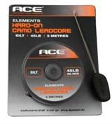 ACE Camo Core - Silt 35lb x 20m поводковый материал в оболочке черный
