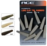 ACE Lead Clip Tail Rubber (Tube) - Weed трубка черная