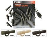ACE Lead Clips - Gravel безопасная клипса для оснастки коричневая