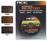 ACE поводковый материал Re-Action - 15lb x 20м коричневый