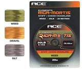 ACE поводковый материал Riga Mortis Hooklink 25lb x 20м черный