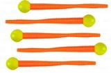 Powerbait Mice Tail 7,5см Chart/Fluo Orange