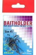 Крючки Silver Bream Baitholder N5