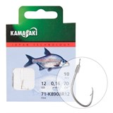Готовый Поводок Kamasaki Carbon Hook K890Br №10 Bounded
