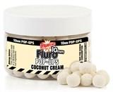Бойлы Dynamite Baits Плавающие 10мм Coconut Cream Fluro+ Liquid Booster