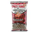 Бойлы Dynamite Baits Тонущие 15мм Spicy Tuna & Sweet Chilli 1кг