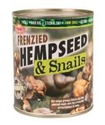 Насадка Dynamite Baits Frenzied Hempseed & Snails - Specimen Консервированная Конопля с Улитками 600гр 14мм