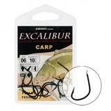 Крючки Excalibur Carp Pellet Feeder Black 8