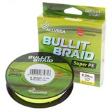 Плетеная Леска Bullit Braid Yellow 92м 0,12мм
