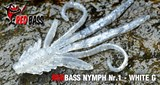 Мягкая Приманка Redbass №1- S 53мм White G 5шт/уп