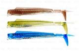 Виброхвост Hart Absolut Eel 3X135мм BB,GB,OW