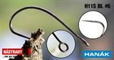 Крючки Hanak Barbless Hooks H11SBL №6 5шт/уп