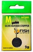 Стопор Fish Season Olive Rubber Stopper 5003 SSSS