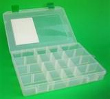 Коробка для Приманок Fisher Box 250HS 4 Продольные Перегородки