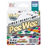 Плетеная Леска Power Eye Pee Wee WX4 Marked 150м #0.8 10lb MultiColor