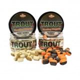 Наггетсы Форелевые Плавающие Dynamite Baits Two Tone Floating Nugget Honey/Trout Pellet (Мёд/Пеллетс)