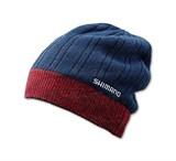 Шапка Shimano BREATH HYPER+ CA064NNV Fleece Knit Watch Cap Синяя