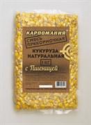 Прикормочная Смесь Карпомания Кукуруза Натуральная с Пшеницей Пакет 1кг