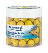 Мини-Бойлы Cralusso Fluo Pineapple Mini Boilie 40гр 10мм