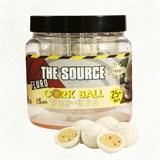 Бойлы плавающие Dynamite Baits 15мм The Source Fluro Cork Ball White