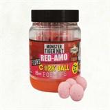 Бойлы плавающие Dynamite Baits 15 мм. Pink Red-Amo Fluro Cork Ball