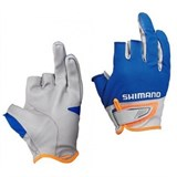 Перчатки Shimano 3D Advance Glove3 GL-021N Синий L