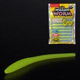Мягкая приманка Слаг Lucky John Съедобная Pro Series Wiggler Worm 2,3'' 101 9шт/уп