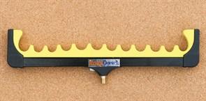Подставка Rosy Dawn гребенка Фидерная 12 неопрен желтая малая
