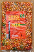 Прикормочная Смесь Карпомания Кукуруза Натуральная Смесь вкусов MIX Пакет 1кг