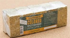 Прикормка прессованная Карпомания с Кукурузой жёлтая 0,5кг