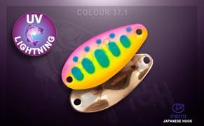 Блесна Crazy Fish Soar 2,2гр Цвет 37