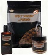 Бойлы Dynamite Baits Spicy Shrimp & Prawn 10mm S/L 1кг