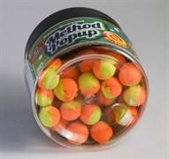 Мини-Бойлы Плавающие Benzar Mix Bicolor Method 7мм PopUp Апельсин-Шоколад 50шт/уп