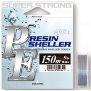 Плетеная леска Yamatoyo PE Resin Sheller Gray 150м #0.6 9Lb