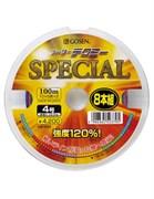 Плетеная леска Gosen 4PE Meter Tecmy Special Connected #0.8 (7,1кг/100м)