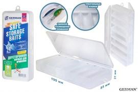 Коробка для приманок German Safe Storage Baits 19x8.5