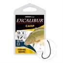 Крючки Excalibur Carp Curved Shank Bn 1/0