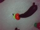 Банан 2,5 Чернение, с Точкой, Бисер 0,4гр 3шт