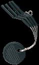 Адаптер для Поплавков Cralusso Float adaptors 4шт 0,9