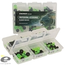 Набор Пластиковых и Резиновых Бусин Rubber Shock Bead Set 6 Soft-Hard Green