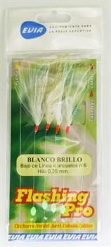 Стример на поводке Evia Flashing Pro Blanco N8 4шт/уп - фото 21149