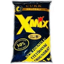 Купить Многокомпонентная Прикормка Cukk X-Mix Чеснок-Мед – цена 210 руб.