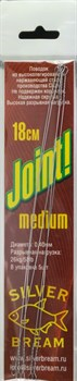 Поводок Струна Silver Bream Joint! Medium 18см - фото 36520